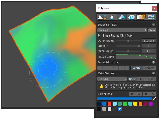 Vertex Color - Polybrush