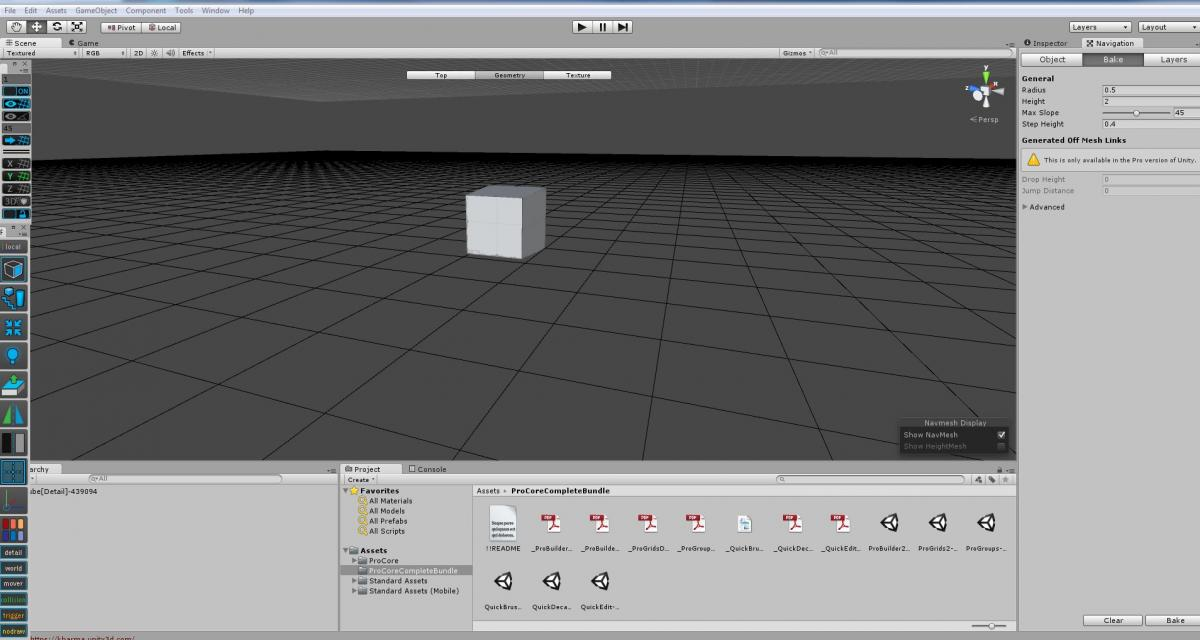 Unity ProGrid missing the grid? - ProGrids - ProCore Forum