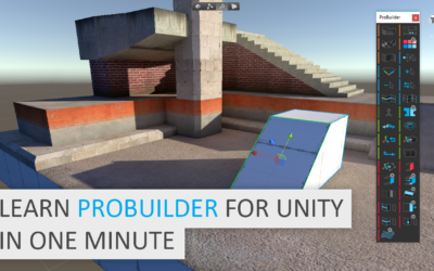 New Video: Learn ProBuilder in One Minute!