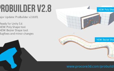 Major ProBuilder Update: v2.8