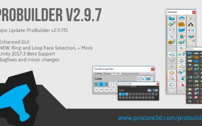 Major ProBuilder Update: v2.9.7
